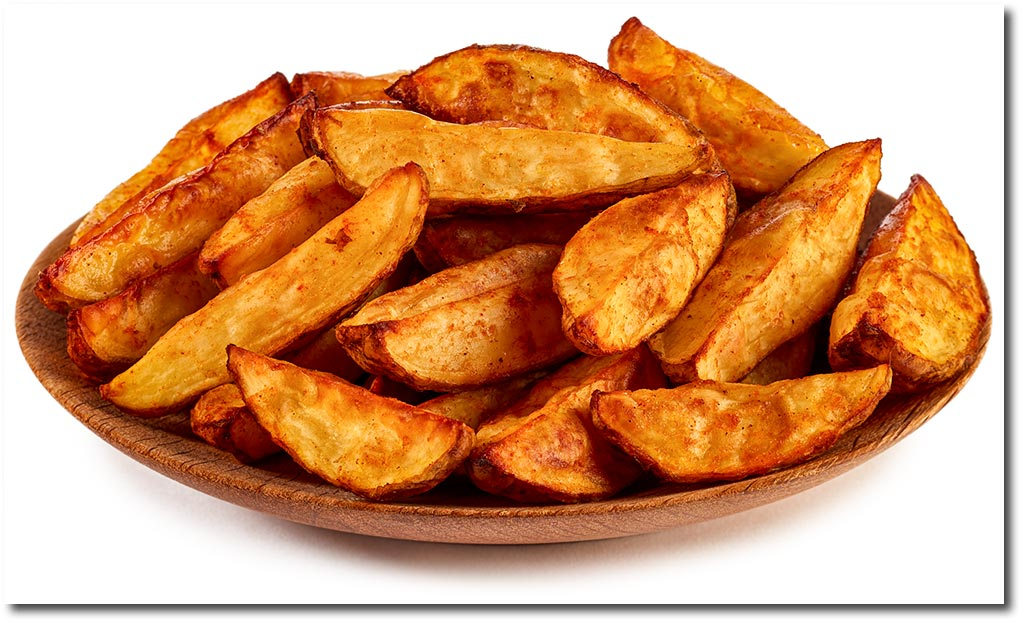 Potato Wedges - Kartoffel Ecken