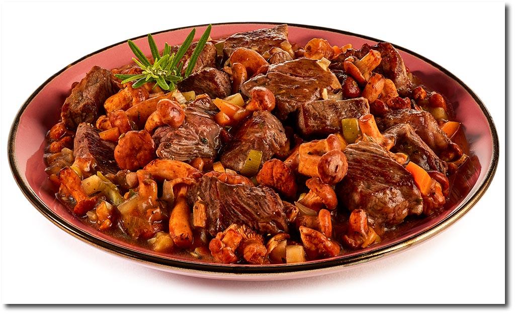 Beef Steak Gulasch Rezept